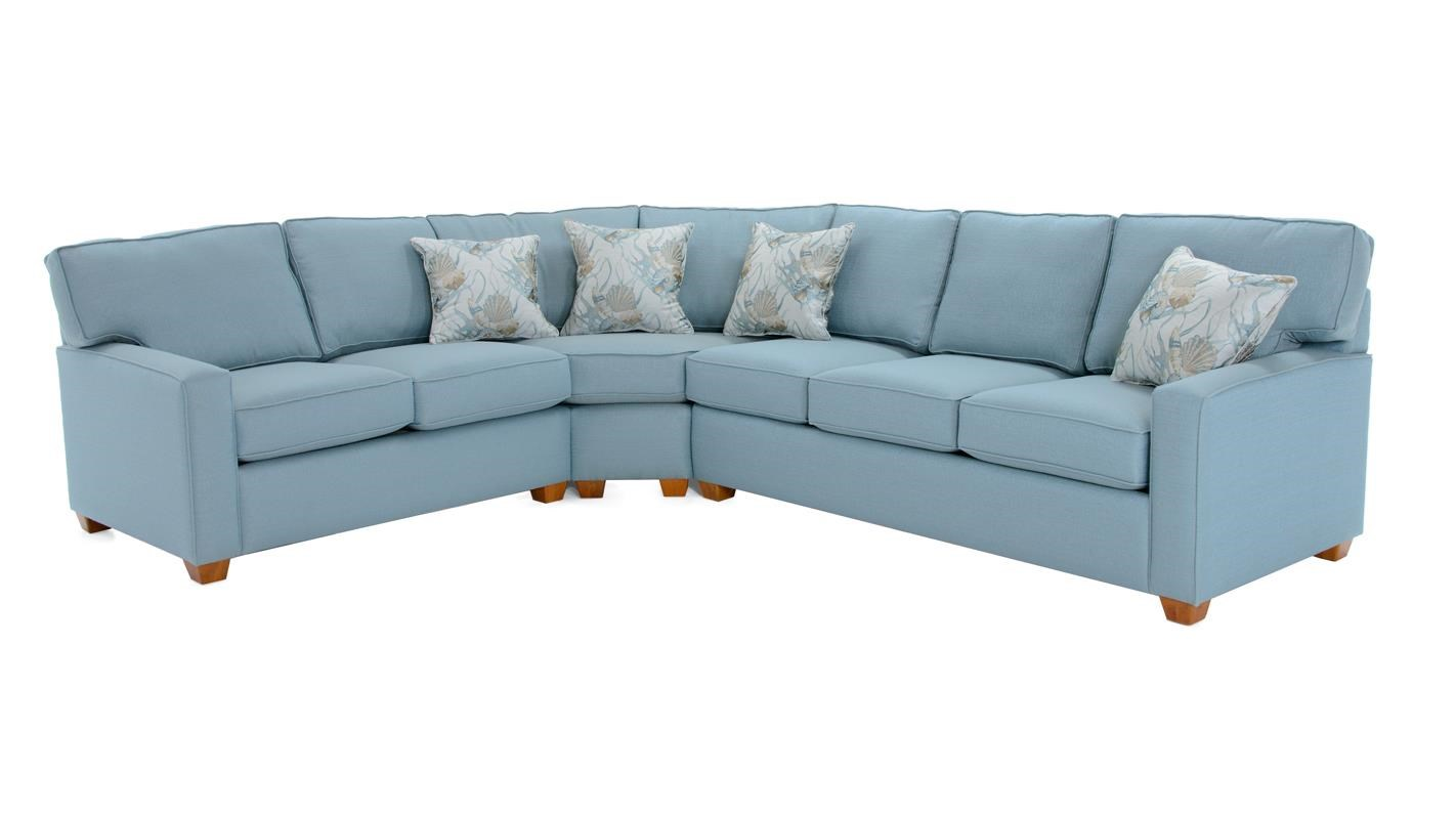 3 Pc Sectional Sofa w/ Sleeper
