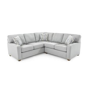 Capris Furniture 145 2 Pc Corner Sectional Sofa