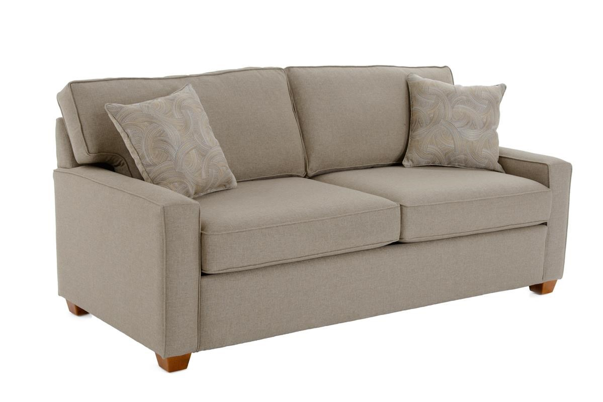 Capris Furniture 146 Sleeper Sofa - Item Number: Q146 GRANDE TOAST