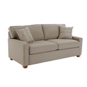 Best Home Furnishings Dinah Contemporary Full Sofa Sleeper with Air Dream Mattress Baer s