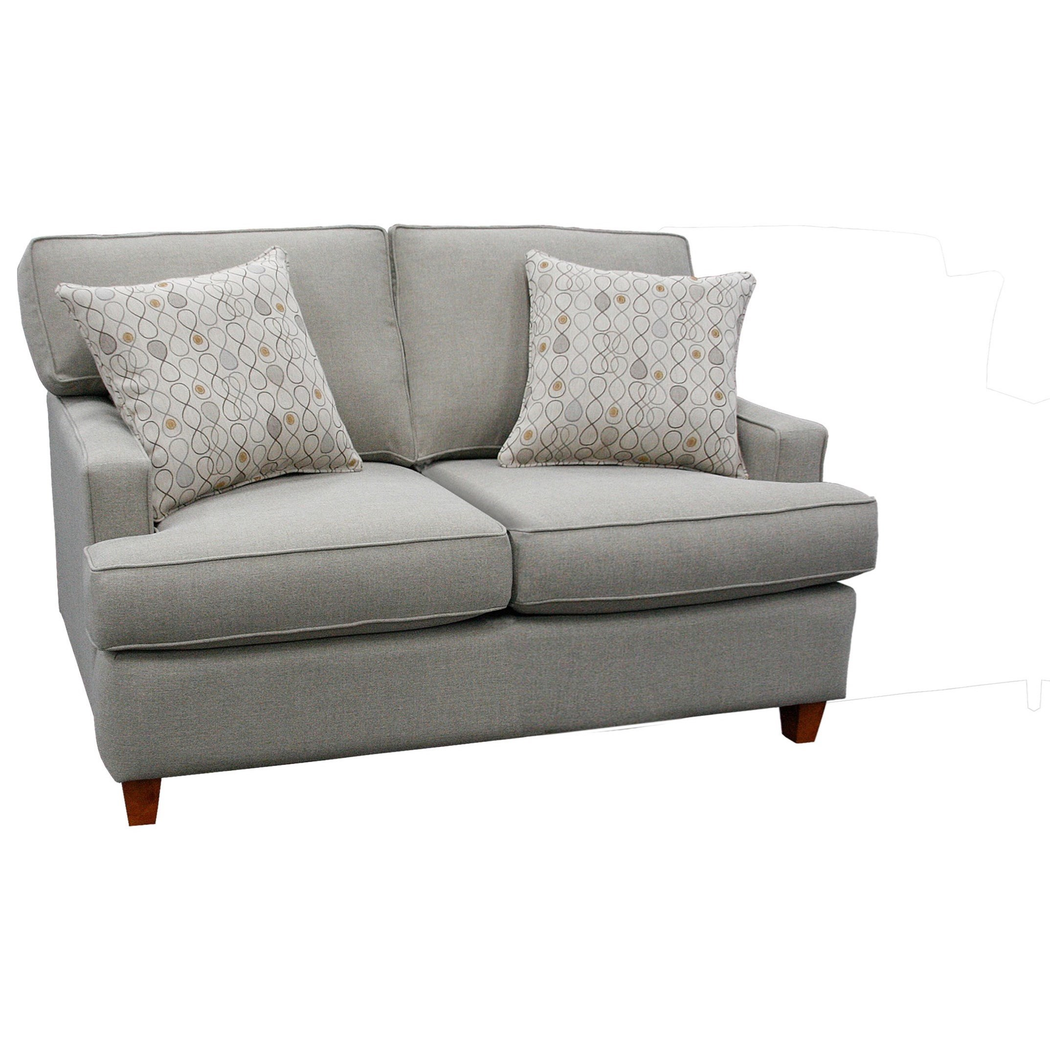 162 Loveseat by Capris Furniture at Esprit Decor Home Furnishings