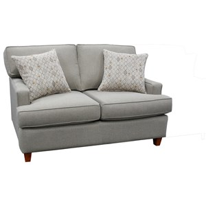 162 Contemporary Loveseat by Capris Furniture
