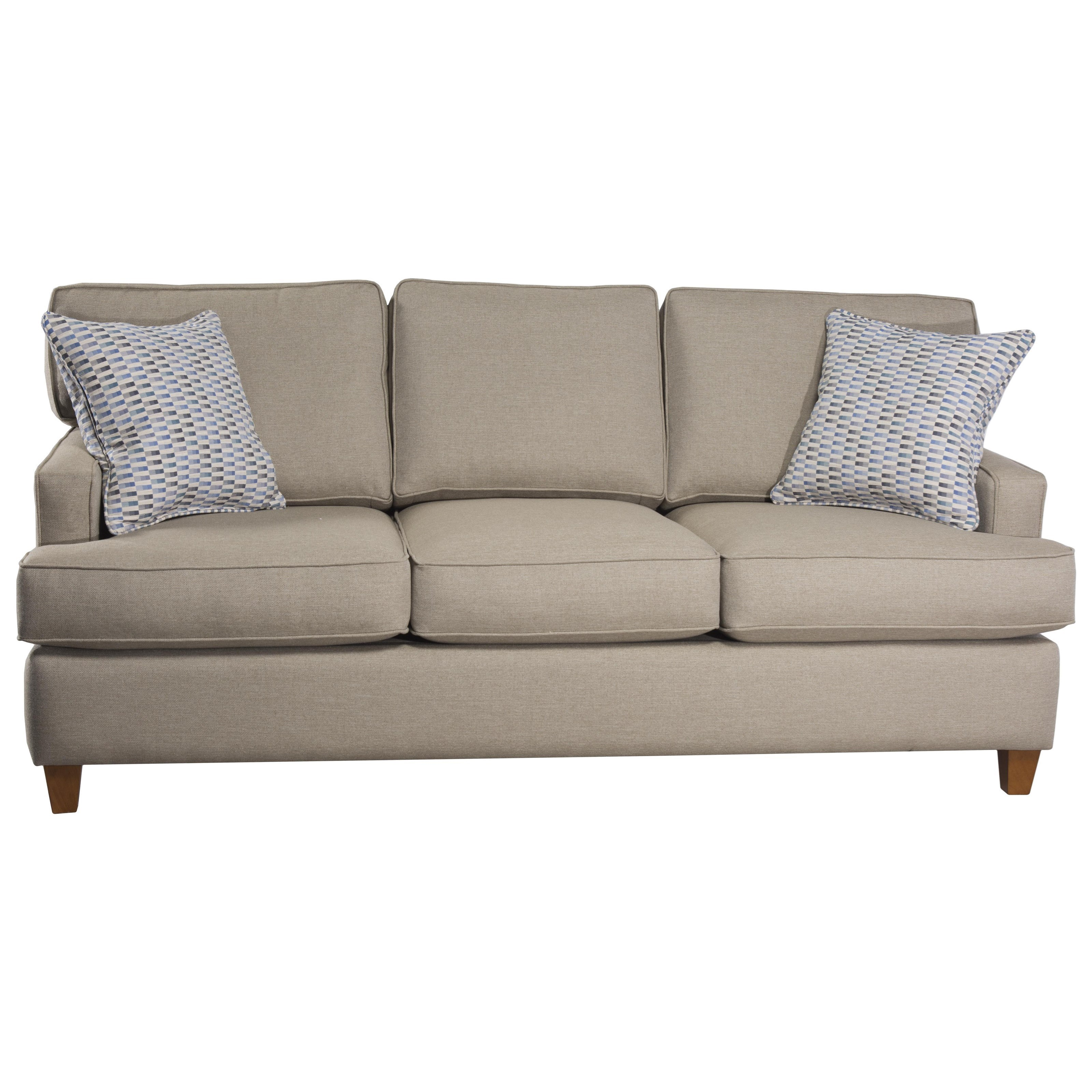 162 Queen Sleeper Sofa by Capris Furniture at Esprit Decor Home Furnishings