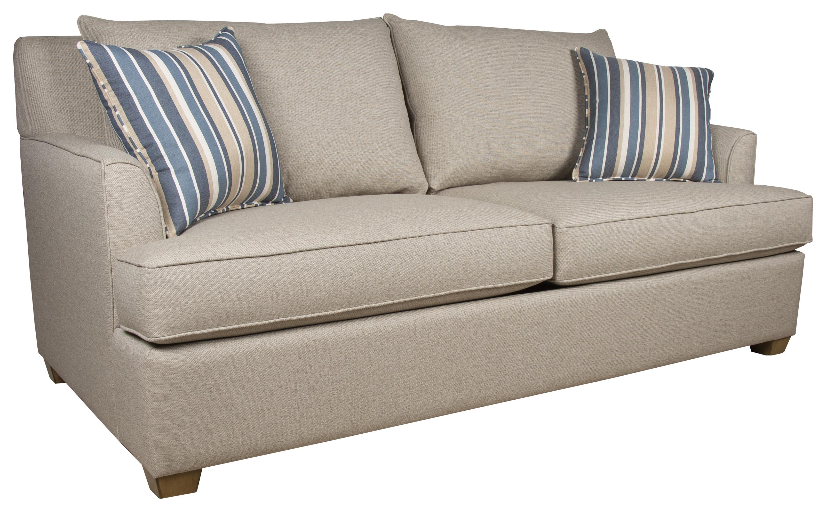 210 Sofa Collection Queen Sleeper Sofa by Capris Furniture at Baer's Furniture