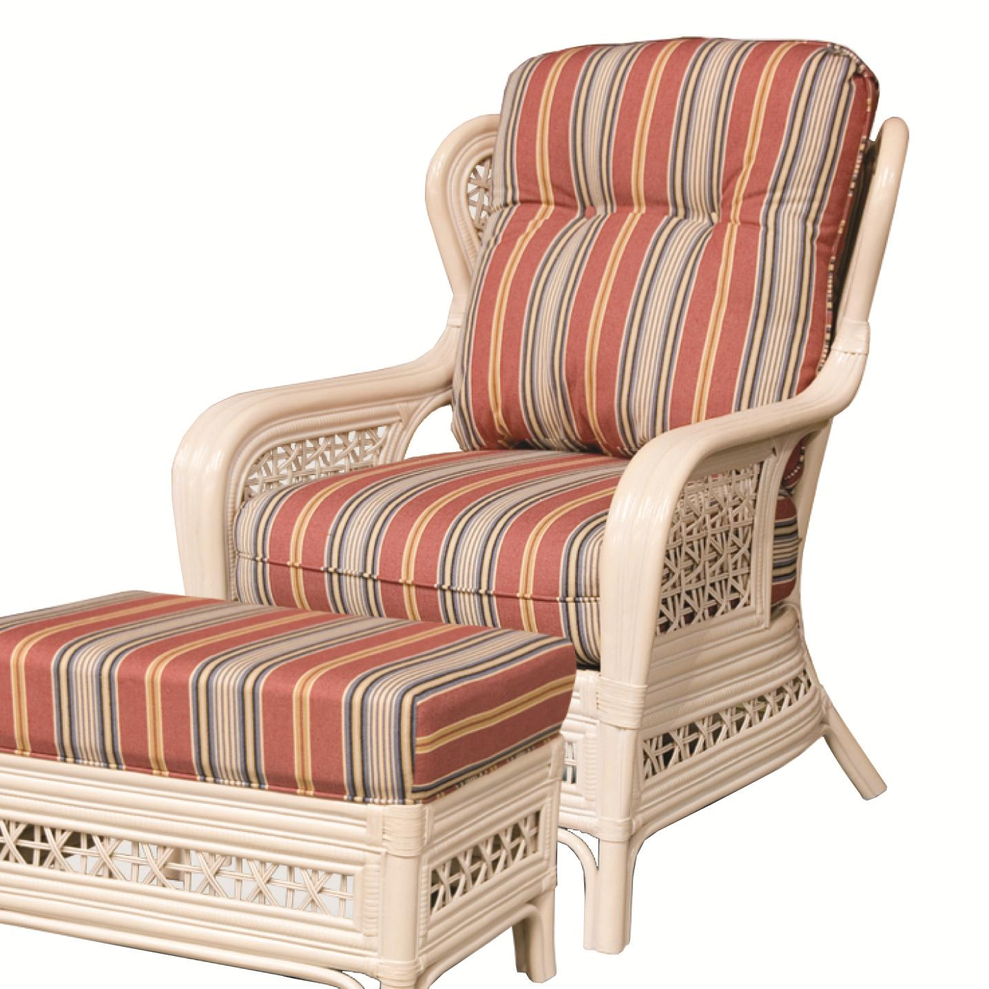 341 Collection Exposed Rattan Chair by Capris Furniture at Esprit Decor Home Furnishings