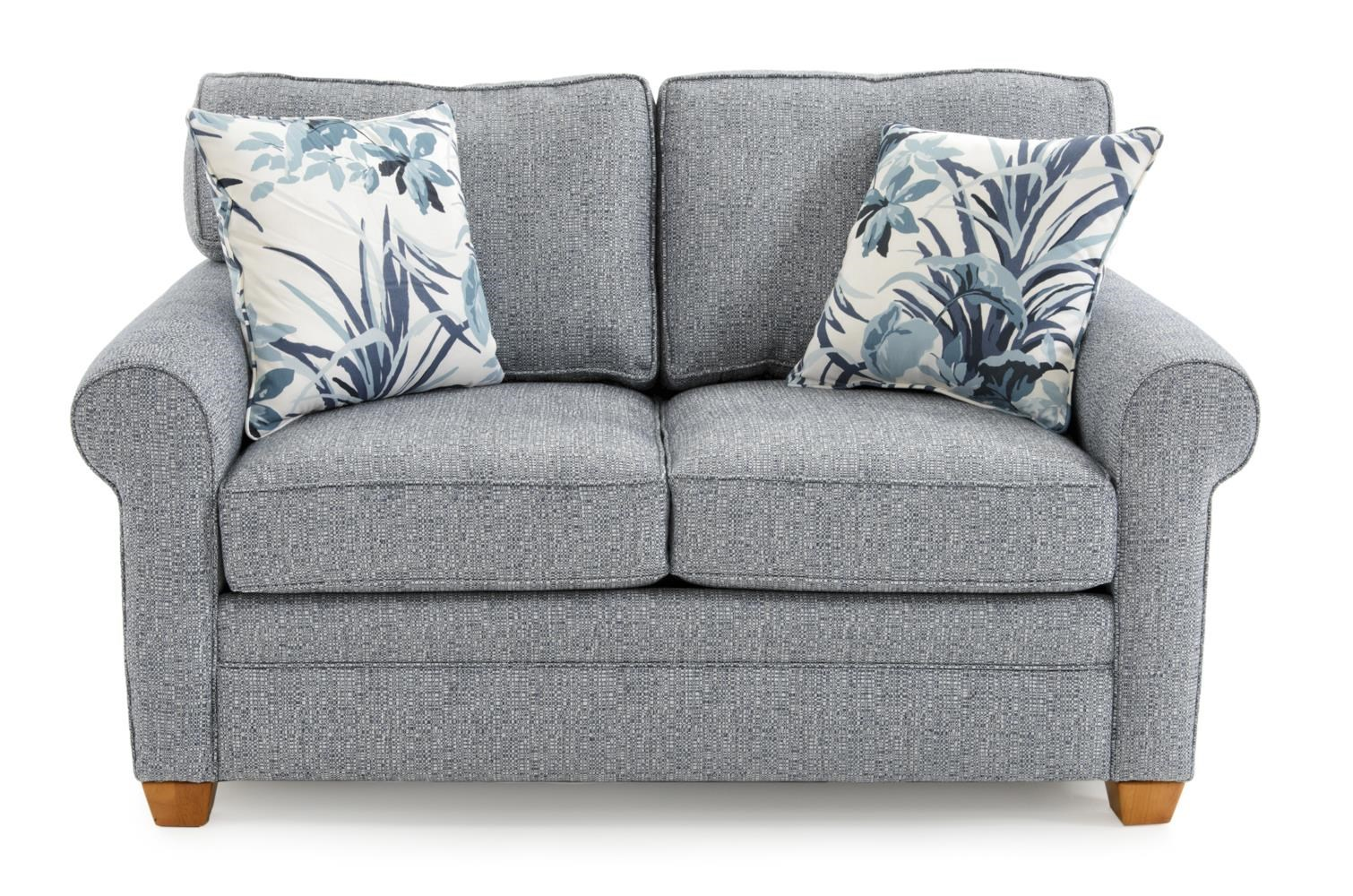 Capris Furniture 402 Loveseat - Item Number: L402 ALLOX OCEAN