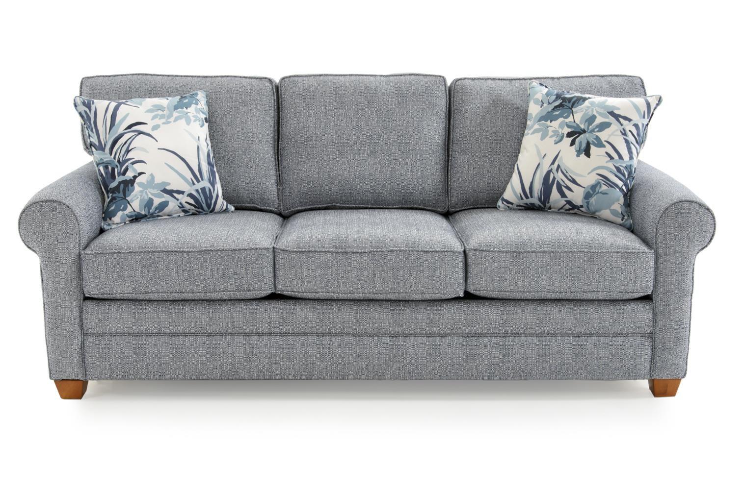Capris Furniture 402 Q402 Allox Ocean Casual Rolled Arm