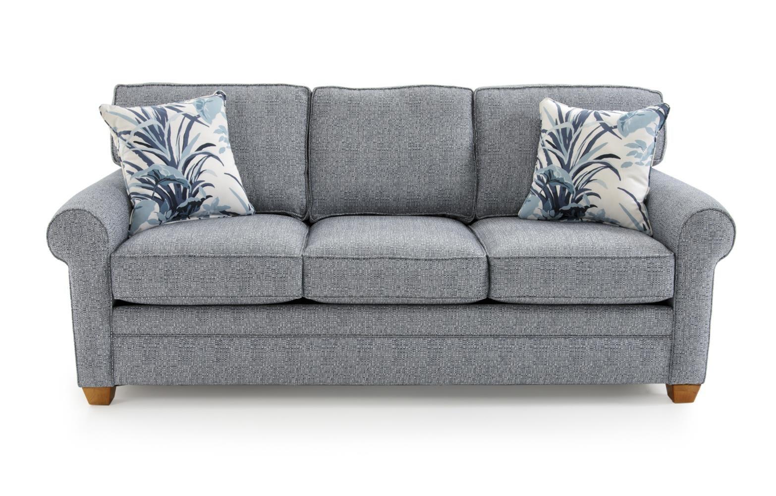 Capris Furniture 402 Sofa - Item Number: S402 ALLOX OCEAN