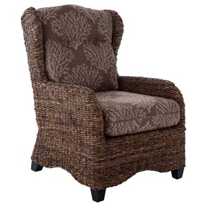 Capris Furniture 700 Woven Accent Chair