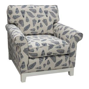 747 Upholstered Chair by Capris Furniture