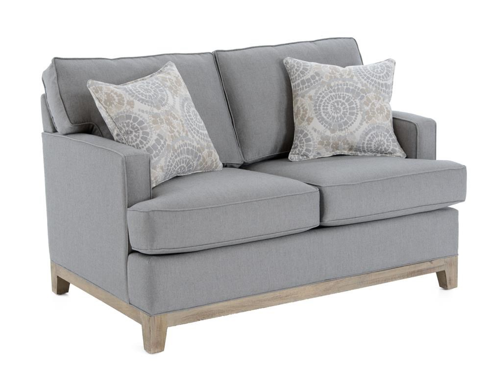 Capris Furniture 752 Loveseat - Item Number: L752 GW FIFE GREY