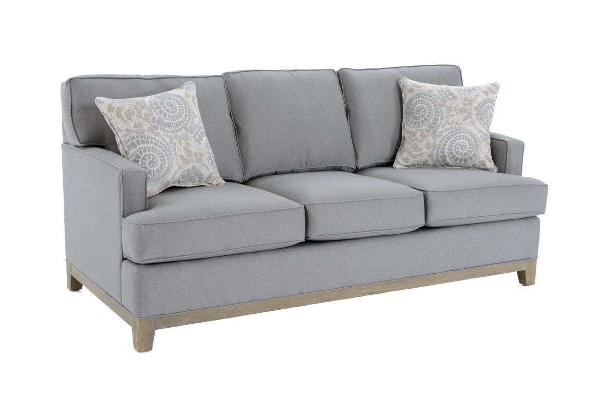 Capris Furniture 752 Queen Sleeper Sofa - Item Number: Q752GW Fife Grey