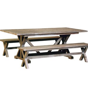 Capris Furniture 766 Dining Table