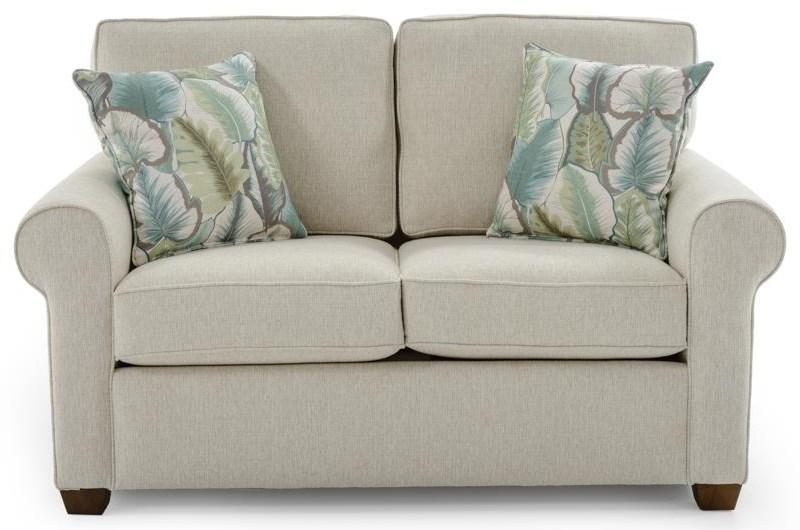 Capris Furniture 912 Loveseat - Item Number: L912 ZEUS SAND