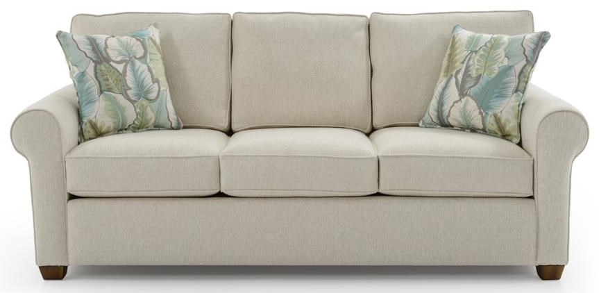 Capris Furniture 912 Sofa - Item Number: S912 ZEUS SAND