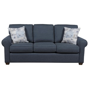 912 Casual Queen-Size Sleeper Sofa by Capris Furniture