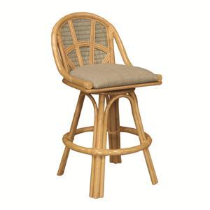 Capris Furniture Barstools Rattan Back Bar Stool