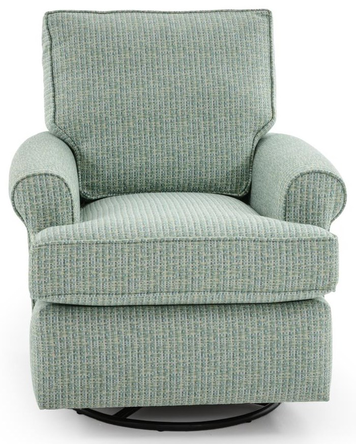 Capris Furniture SG121 Swivel Chair - Item Number: SW121 RAID EATERS
