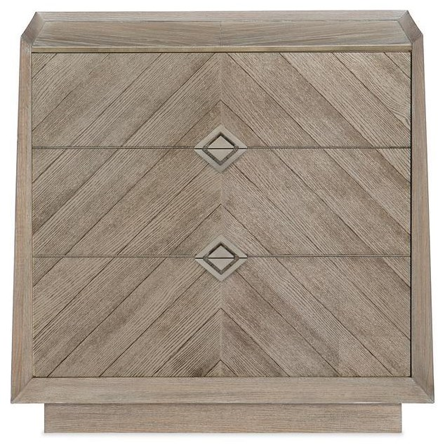 Cara Nightstand by Caracole at Baer's Furniture