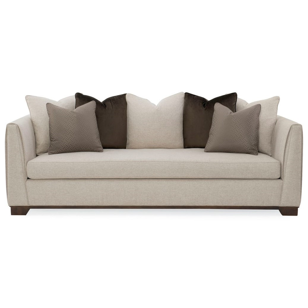 Caracole Upholstery Moderne Sofa by Caracole at Baer's Furniture