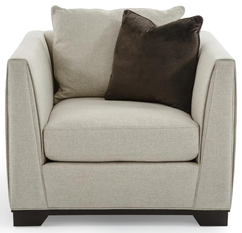 Caracole Upholstery Moderne Chair by Caracole at Baer's Furniture