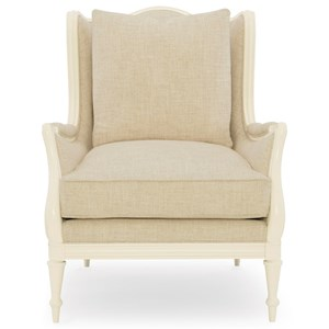 """Caracole Caracole Upholstery The """"Southern Charm"""" Chair"""