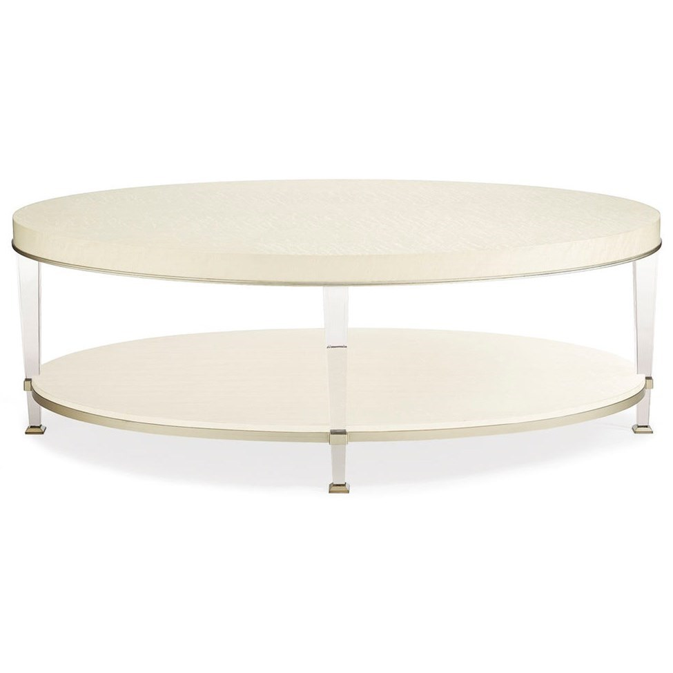 """Caracole Classic The """"Birds Eye View"""" Cocktail Table by Caracole at Baer's Furniture"""