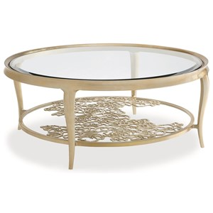 """Caracole Caracole Classic """"Handpicked"""" Cocktail Table"""