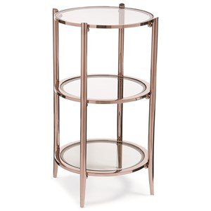"Caracole Caracole Classic ""You Make Me Blush"" End Table"
