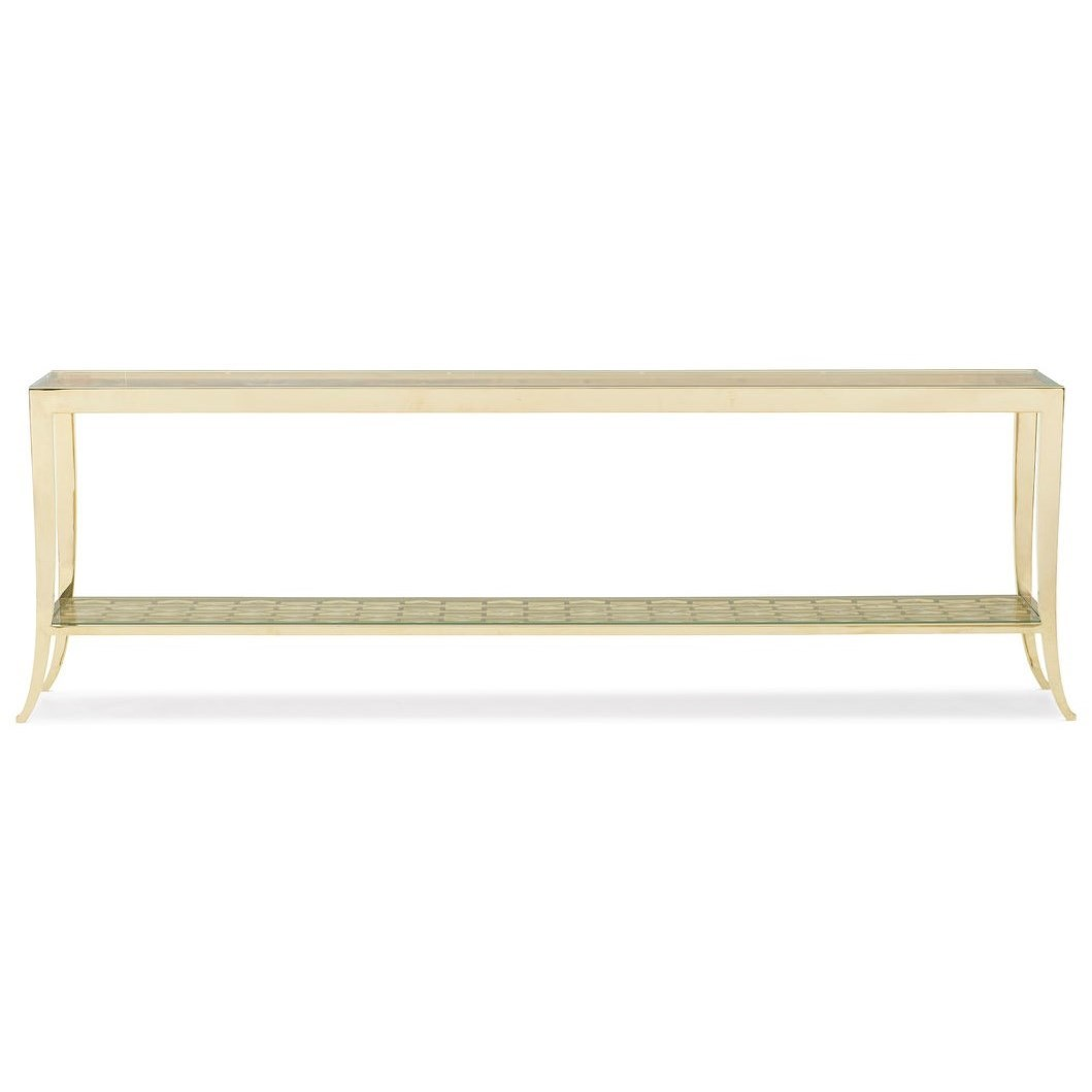 "Caracole Classic The ""In a Holding Pattern"" Console Table by Caracole at Baer's Furniture"