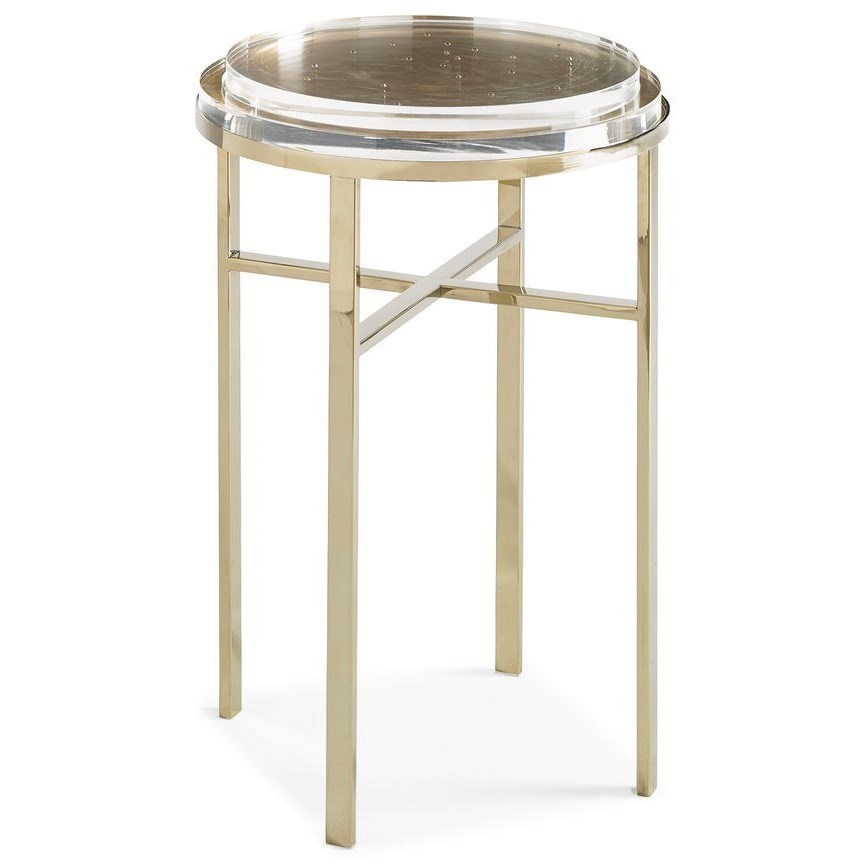 "Caracole Classic ""Sparkler"" End Table by Caracole at Baer's Furniture"
