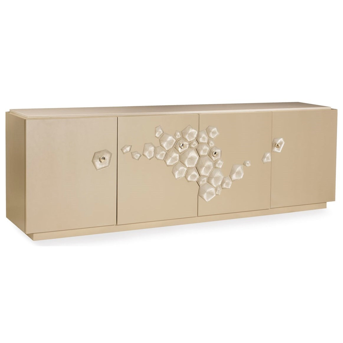 "Caracole Classic The ""Crowd Pleaser"" Entertainment Console by Caracole at Baer's Furniture"