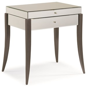 "Caracole Caracole Classic ""Upon Reflection"" End Table"
