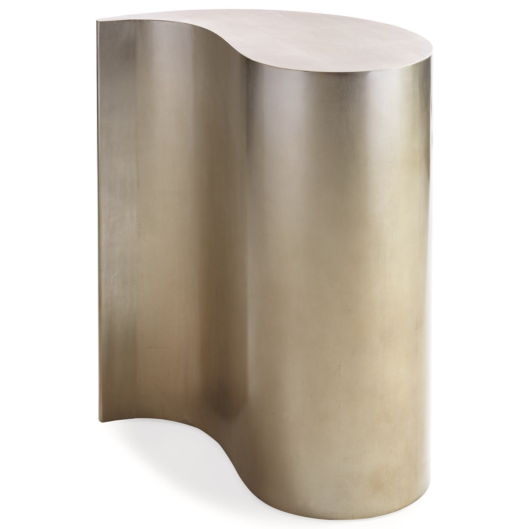 Caracole Classic Contemporary End Quote End Table - Item Number: CON-SIDTAB-034