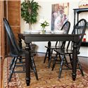 Carolina Chair and Table Dining  Sheridan Dining Leg Table