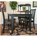 Carolina Chair and Table Dining  Hudson Dining Leg Table