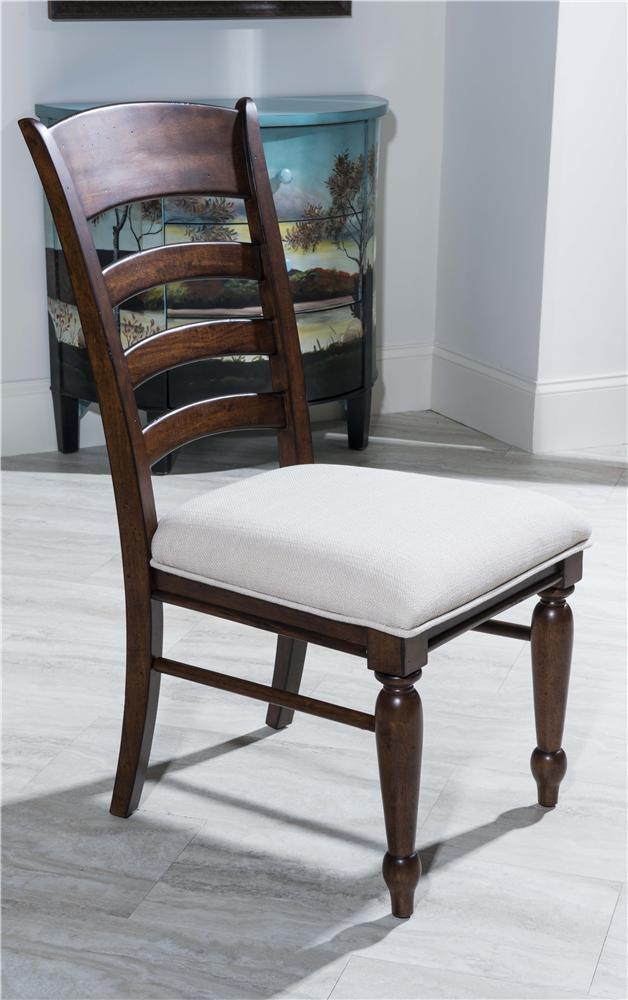 Morris Home Furnishings Livingston Livingston Ladder Back Side Chair - Item Number: 426-901