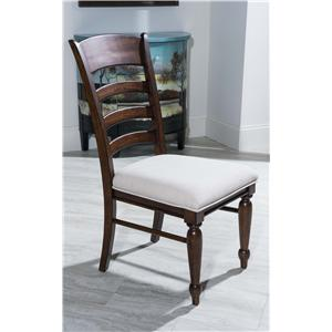 Morris Home Furnishings Livingston Livingston Ladder Back Side Chair