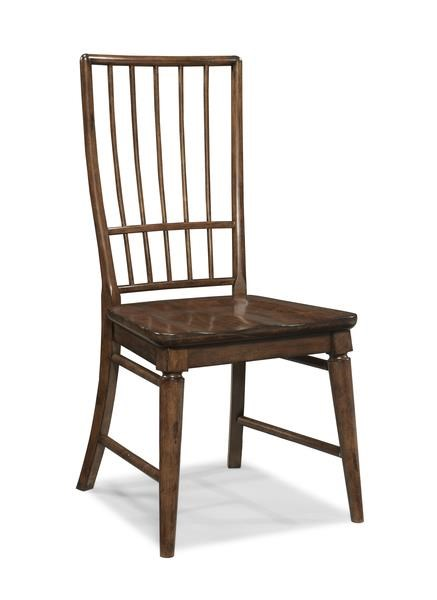 Morris Home Furnishings Livingston Livingston Cherry Rake Back Side Chair - Item Number: 339827575
