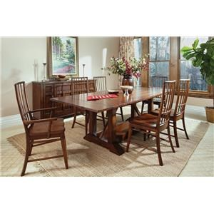 Morris Home Furnishings Livingston  Livingston 5 Piece Table and Chairs Set
