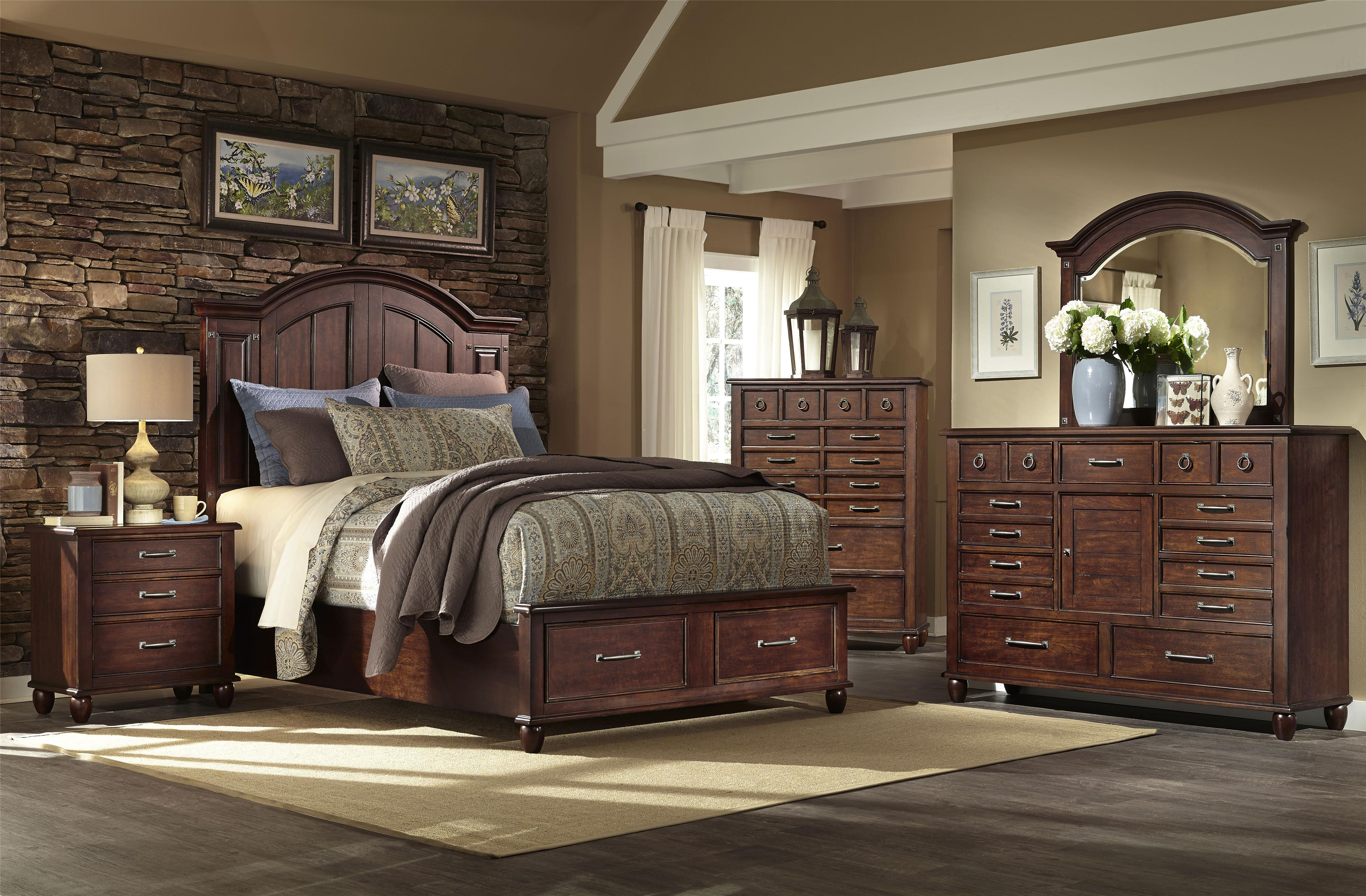 Easton Collection Blue Ridge King Bedroom Group - Item Number: 426 K Bedroom Group 1
