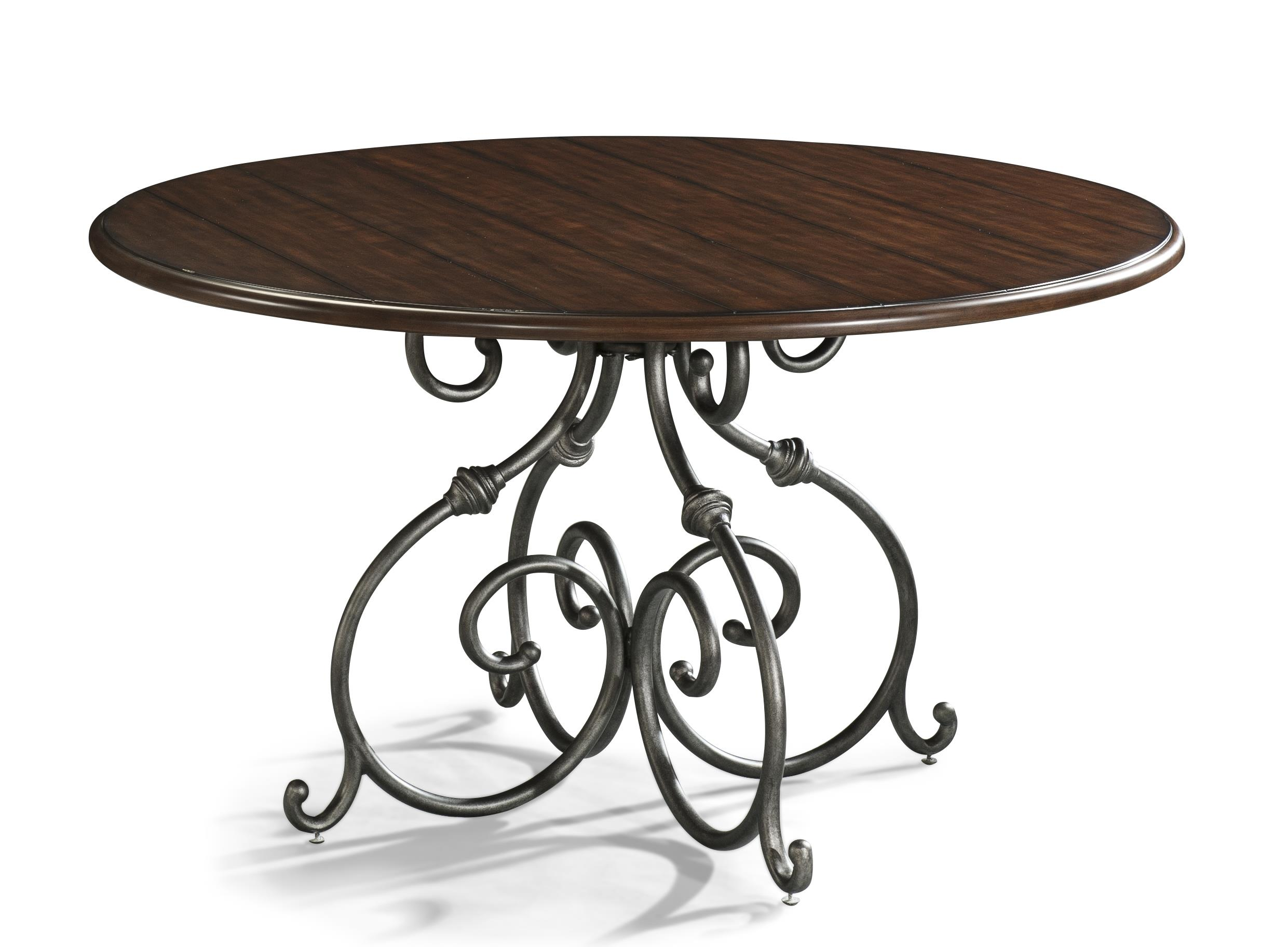 Easton Collection Blue Ridge Round Dining Table - Item Number: 426-054 DRT