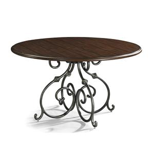 Carolina Preserves by Klaussner Blue Ridge Round Dining Table