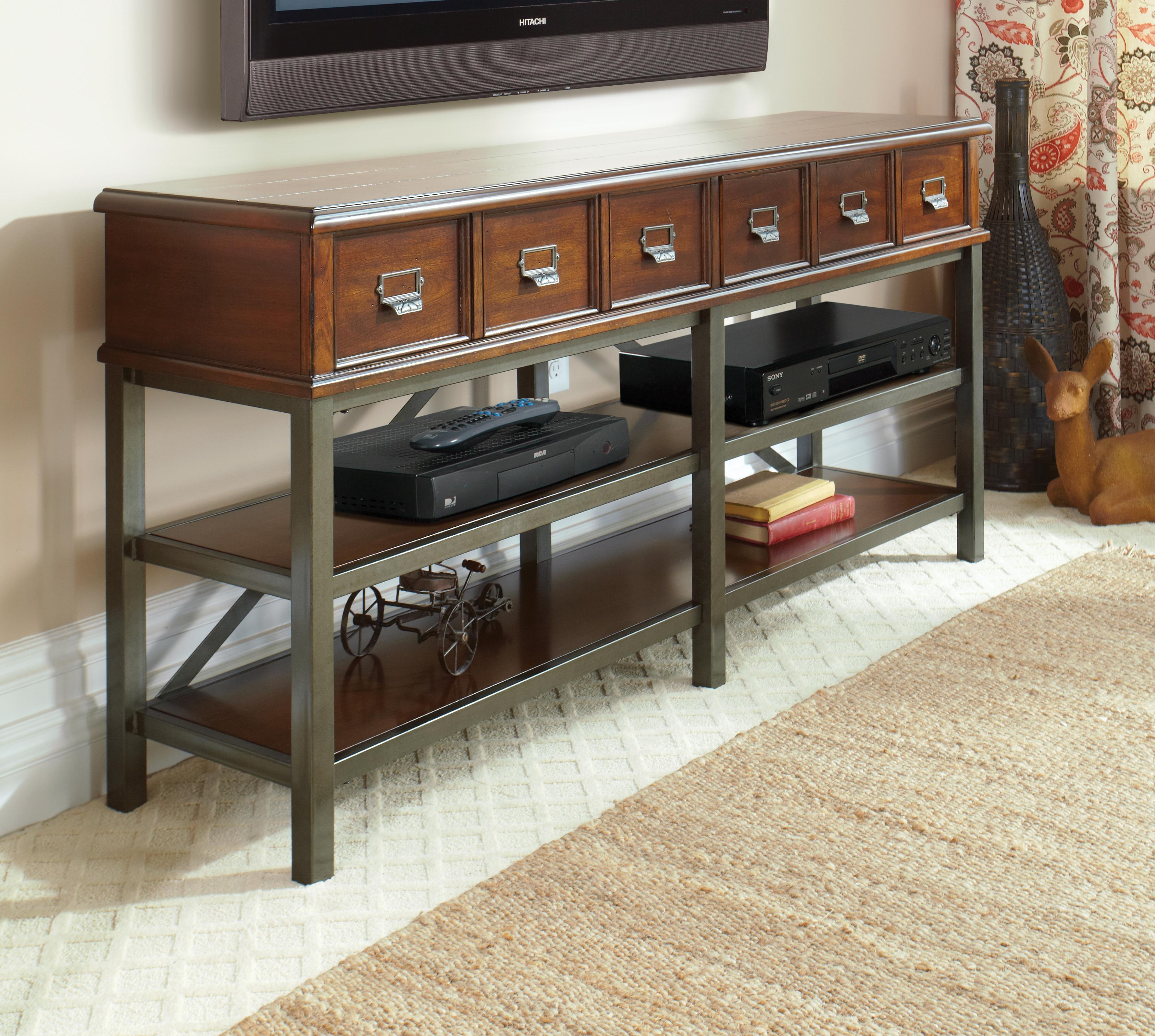 Easton Collection Blue Ridge Harmony-Cherry Entertainment Console - Item Number: 426-068 CONS
