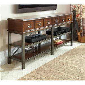 Carolina Preserves by Klaussner Blue Ridge Harmony-Cherry Entertainment Console