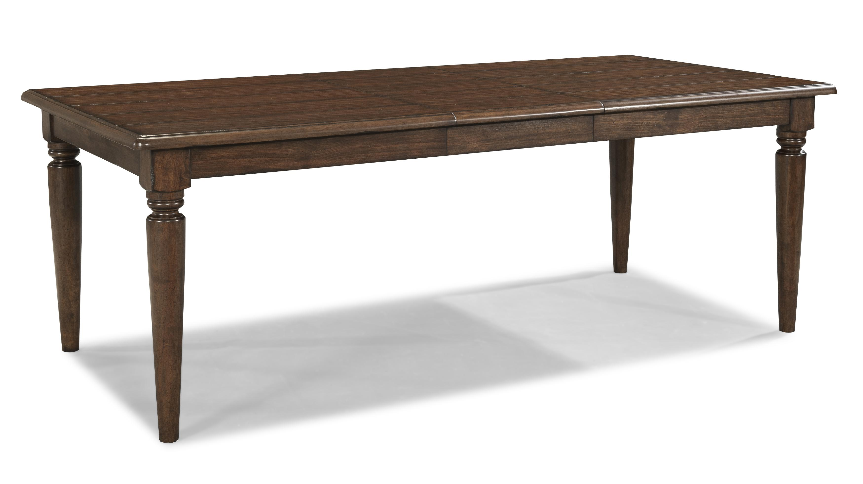 Easton Collection Blue Ridge Rectangular Table with Leaf - Item Number: 426-084 DRT