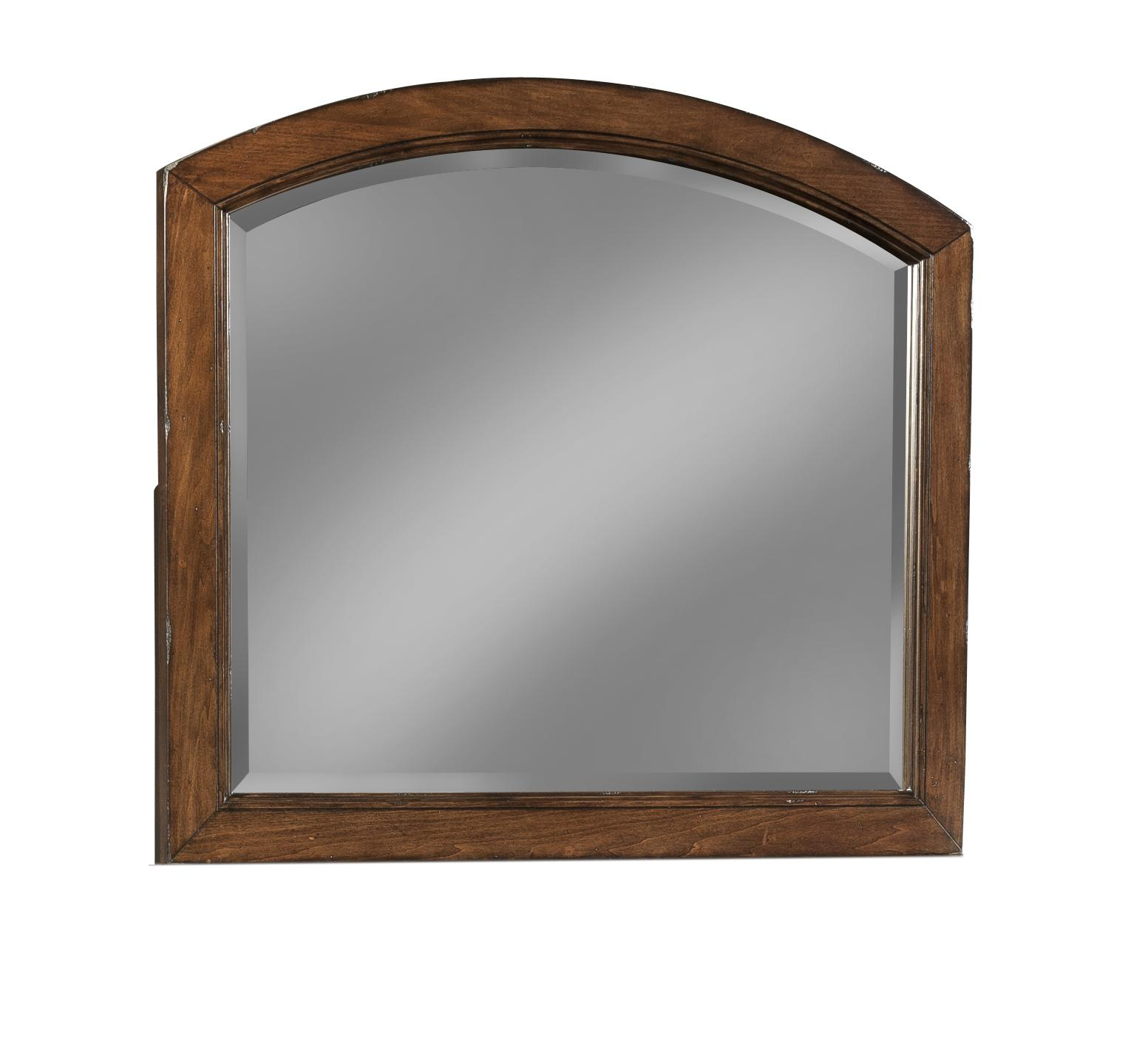 Easton Collection Blue Ridge Cherry Arched Mirror - Item Number: 426-660 MIRR