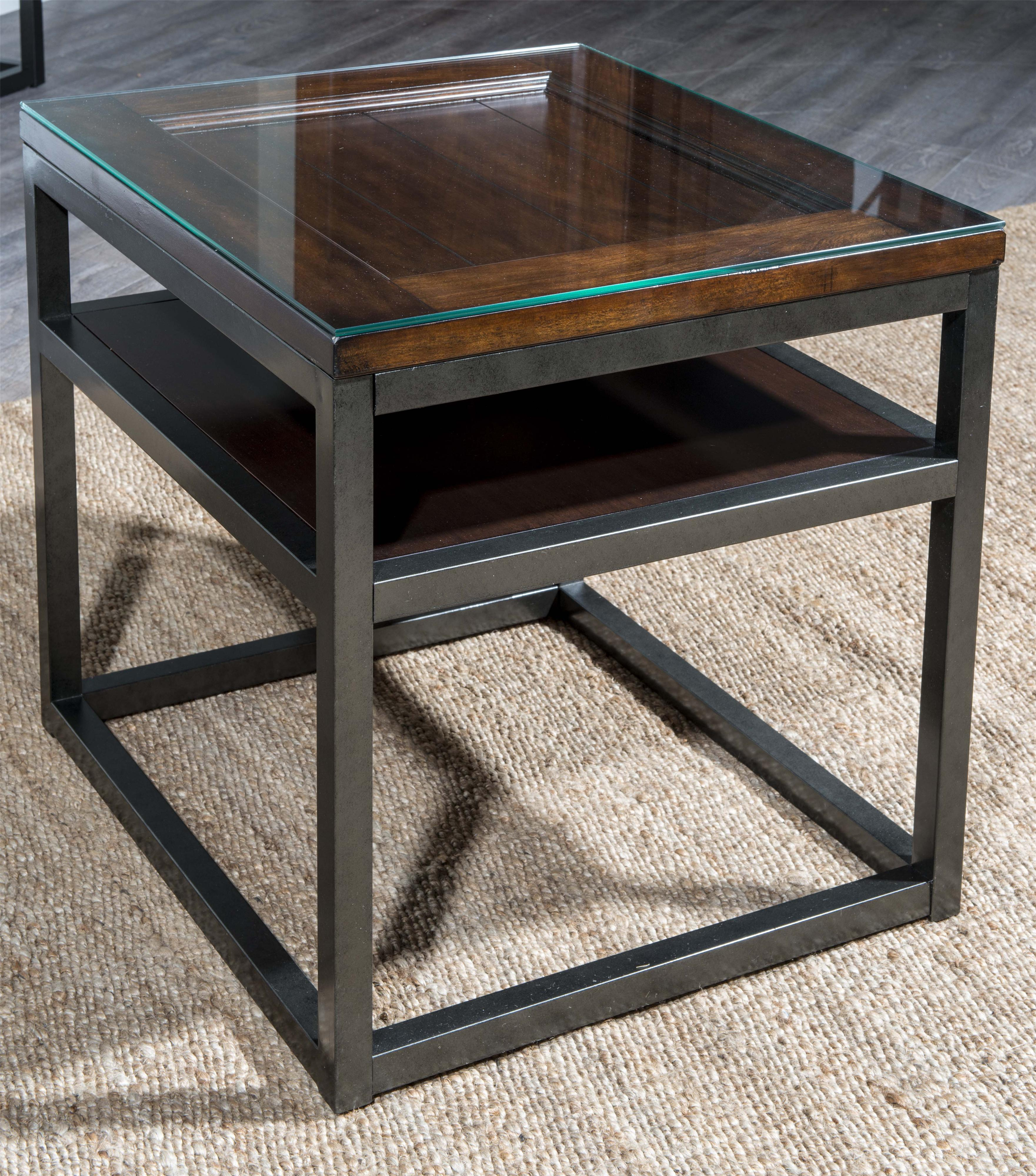Easton Collection Blue Ridge Foothills-Cherry End Table - Item Number: 426-809 ETBL