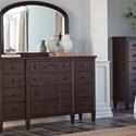 Carolina Preserves by Klaussner Charleston Lane Dresser Mirror - Item Number: 969-660 MIRR