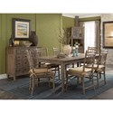 Carolina Preserves by Klaussner Riverbank 'Willow Bank' Dining Room Table with 1 18